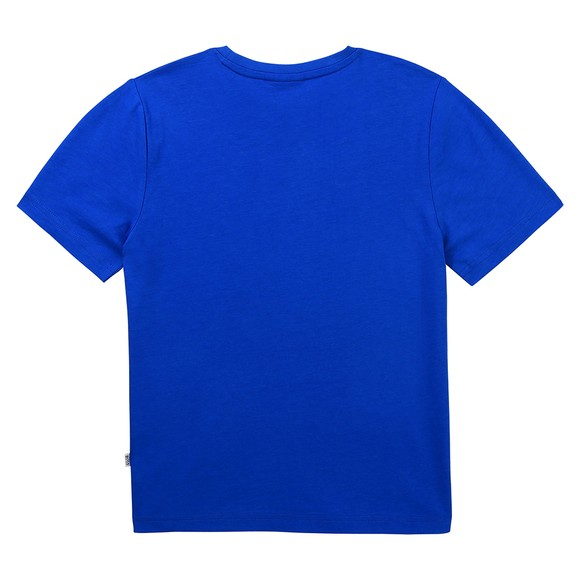 BOSS Boys Blue J25G97 Centre Logo T Shirt main image