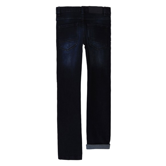 BOSS Boys Blue J24710 Slim Fit Jean main image