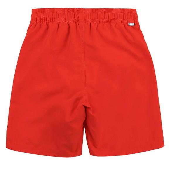 BOSS Boys Red J24682 Swim Shorts