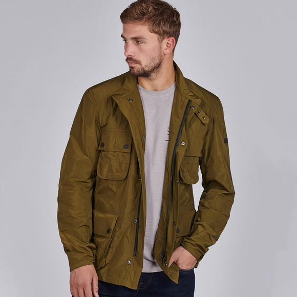 Barbour International Mens Green Weir Casual Jacket