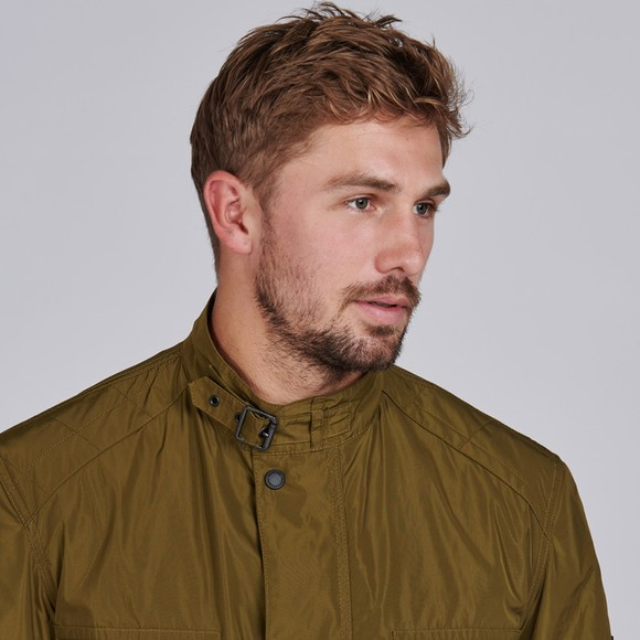 Barbour International Mens Green Weir Casual Jacket main image
