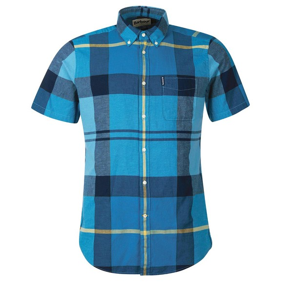 Barbour Lifestyle Mens Blue S/S Douglas Shirt main image
