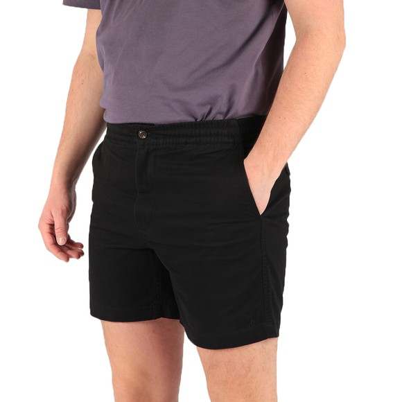 Polo Ralph Lauren Mens Black Prepster Flat Short
