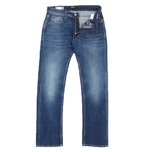 Replay Mens Blue Rocco 573 Bio Jean