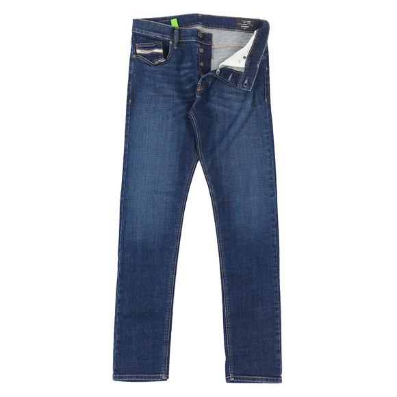 Diesel Mens Blue Luster Slim Jean