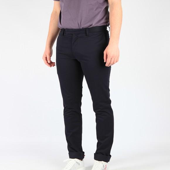 Polo Ralph Lauren Mens Blue Slim Fit Stretch Cotton Chino
