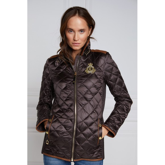 Holland Cooper Womens Brown Studland Jacket