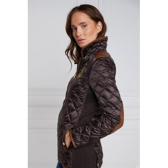 Holland Cooper Womens Brown Studland Jacket main image