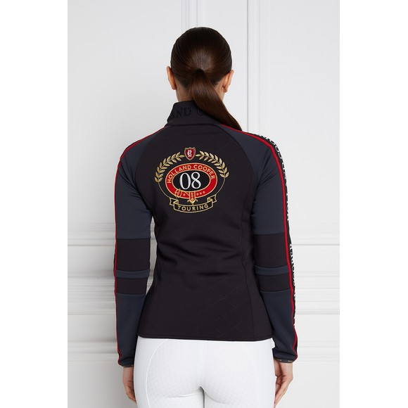 Holland Cooper Womens Black The Coach Jacket main image