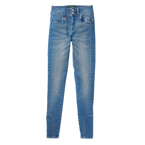 Holland Cooper Womens Blue Jodphur Jean