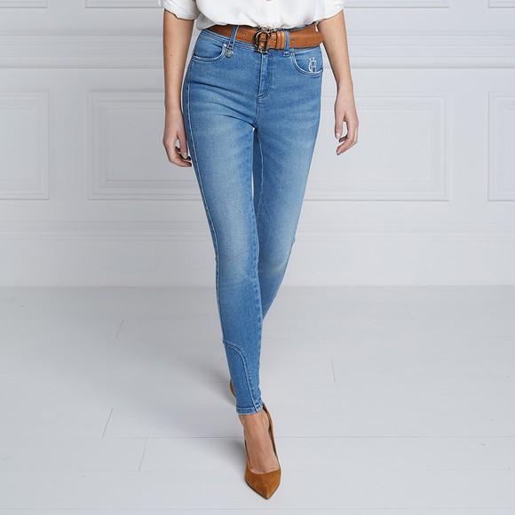 Holland Cooper Womens Blue Jodphur Jean