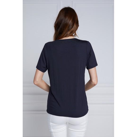 Holland Cooper Womens Blue Heritage Laurel T Shirt main image