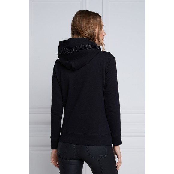 Holland Cooper Womens Black Deluxe Hoody main image