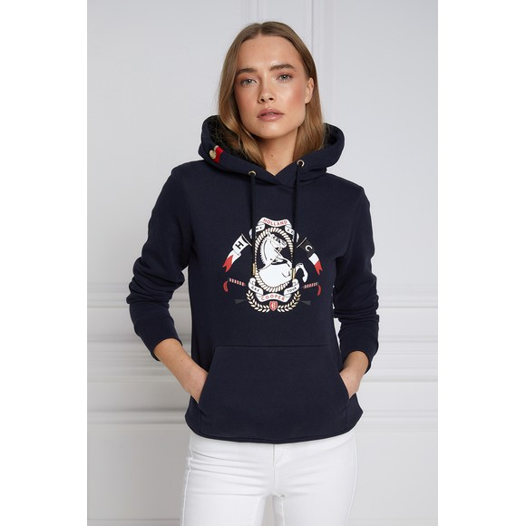 Holland Cooper Womens Blue Champion Hoody