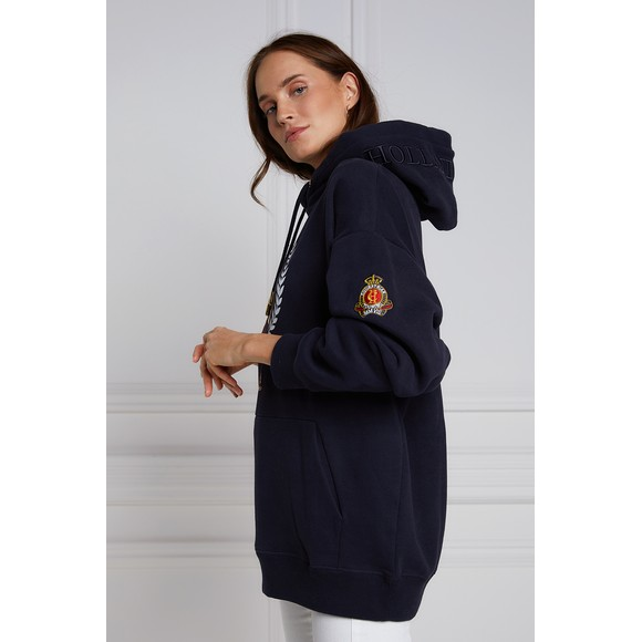 Holland Cooper Womens Blue Heritage Laurel One Size Hoody main image