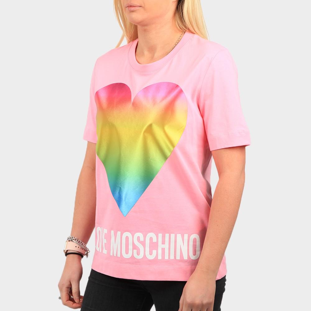 Rainbow Heart T Shirt main image