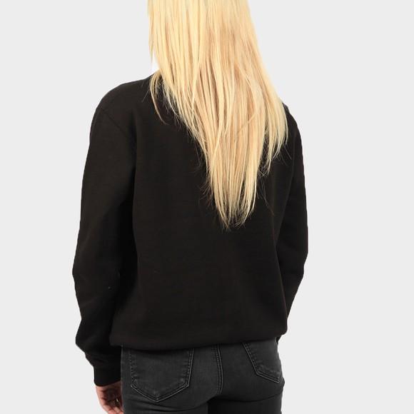 Calvin Klein Jeans Womens Black Monogram Logo Sweatshirt main image