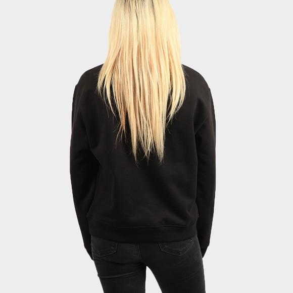 Love Moschino Womens Black Drip Logo Sweatshirt main image