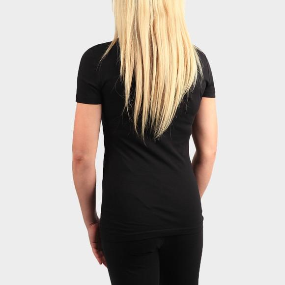 Love Moschino Womens Black Established Logo T Shirt main image