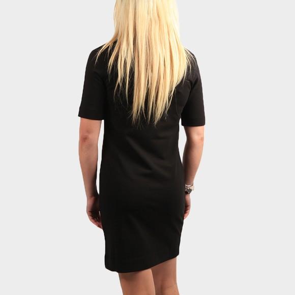 Love Moschino Womens Black Small Established Logo Dress main image