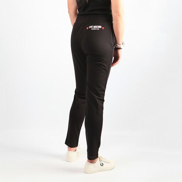Love Moschino Womens Black Established Logo Sweatpant main image