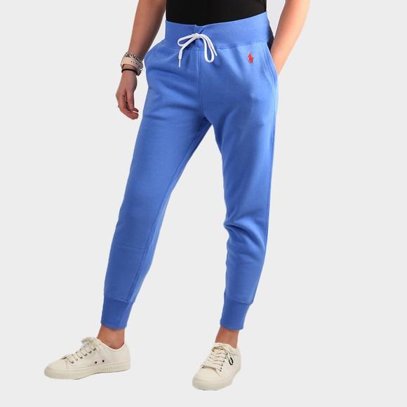 Polo Ralph Lauren Womens Blue Cuffed Jogger