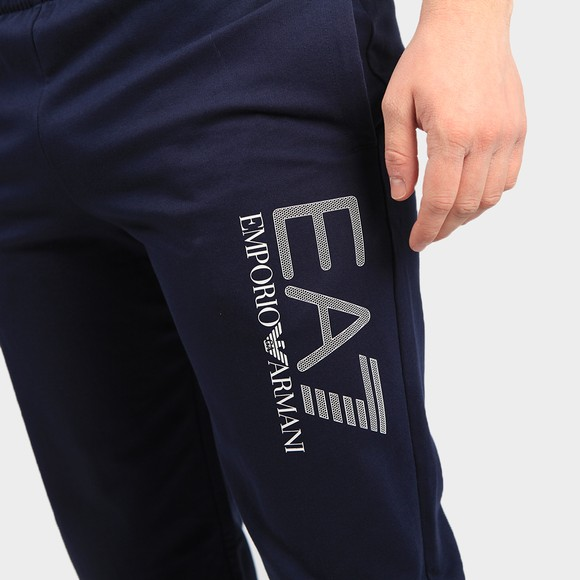 EA7 Emporio Armani Mens Blue Hex Logo Jogger main image