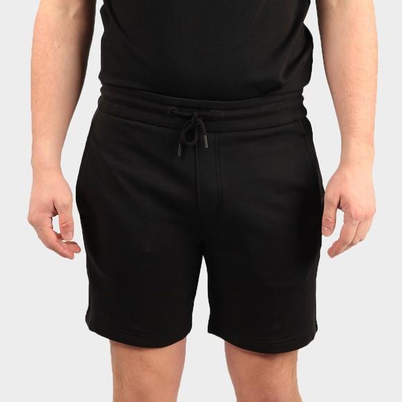Calvin Klein Jeans Mens Black Tape Logo Jersey Short