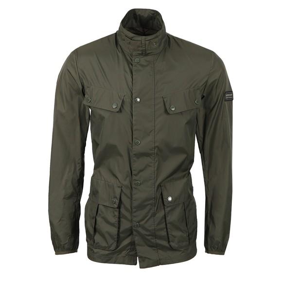 Barbour International Mens Green Packable Duke Jacket