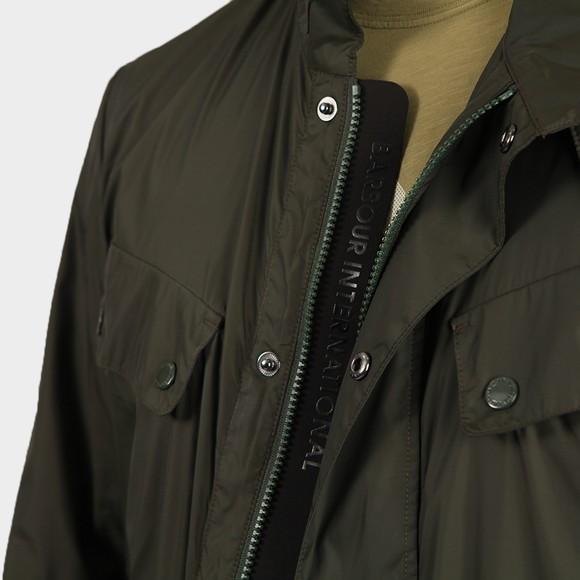 Barbour International Mens Green Packable Duke Jacket main image