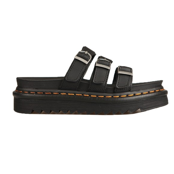 Dr. Martens Womens Black Blaire Slide
