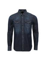 Twin Pocket Denim Shirt
