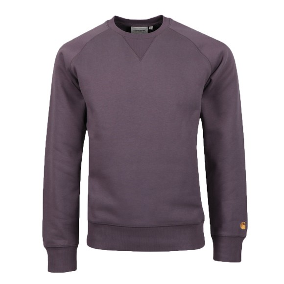 Carhartt WIP Mens Purple Chase Sweatshirt