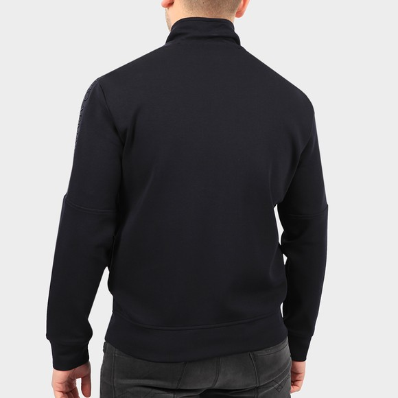 Emporio Armani Mens Blue Arm Tape Zip Sweatshirt main image