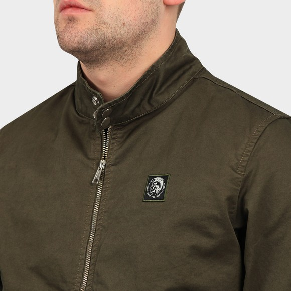 Diesel Mens Green Halls Cotton Jacket main image