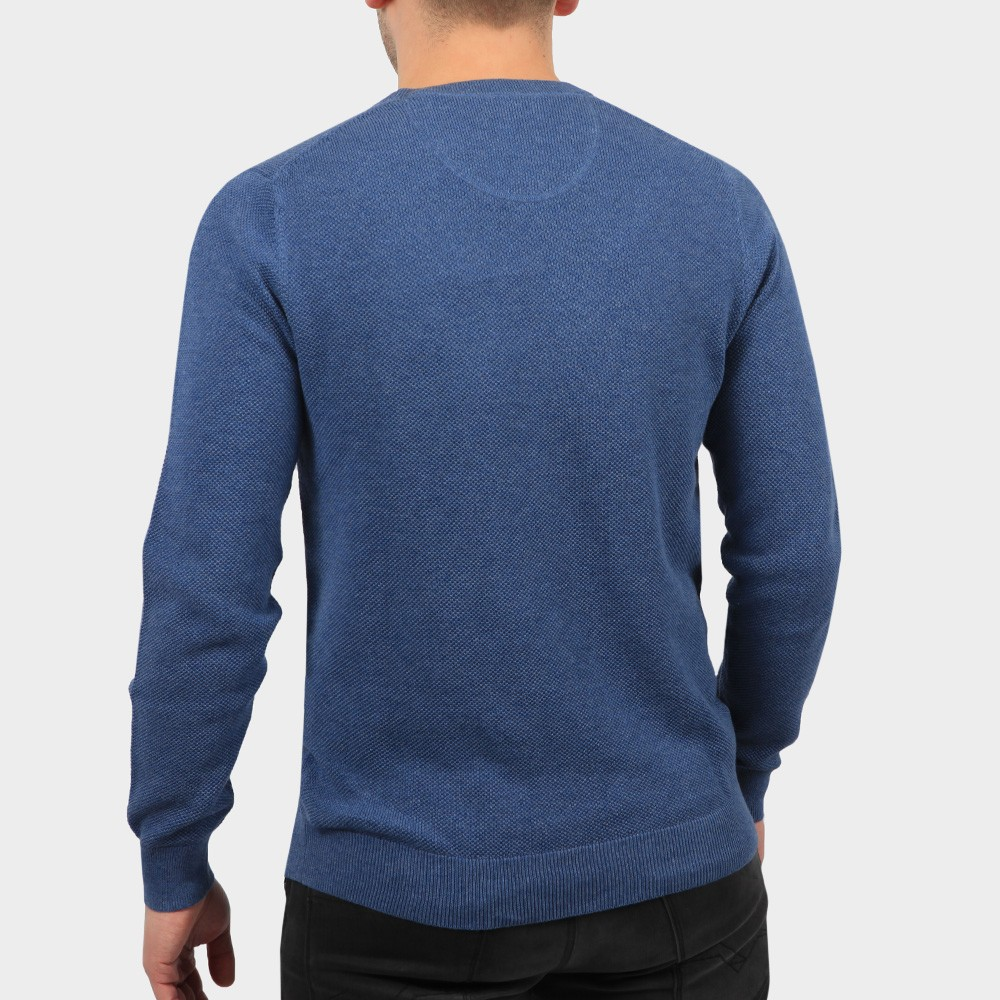 Cotton Pique Crew Jumper main image