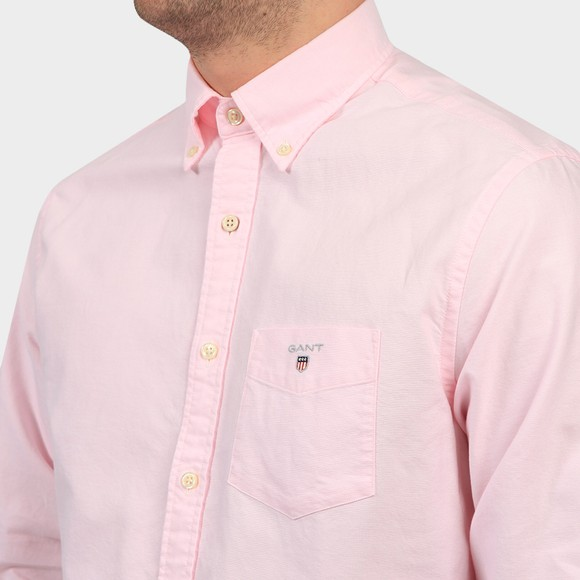 Gant Mens Pink The Oxford Shirt main image