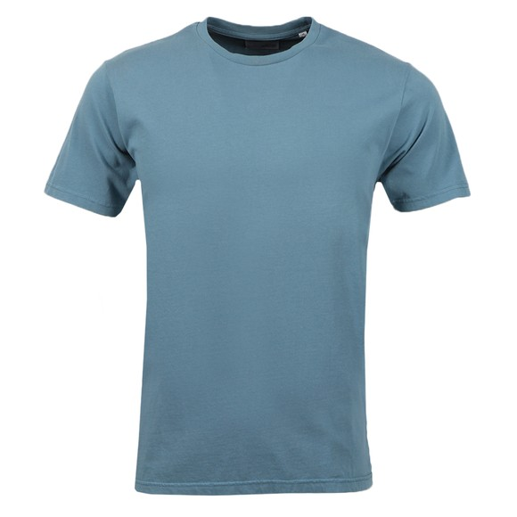 Colorful Standard Mens Blue Organic T-Shirt