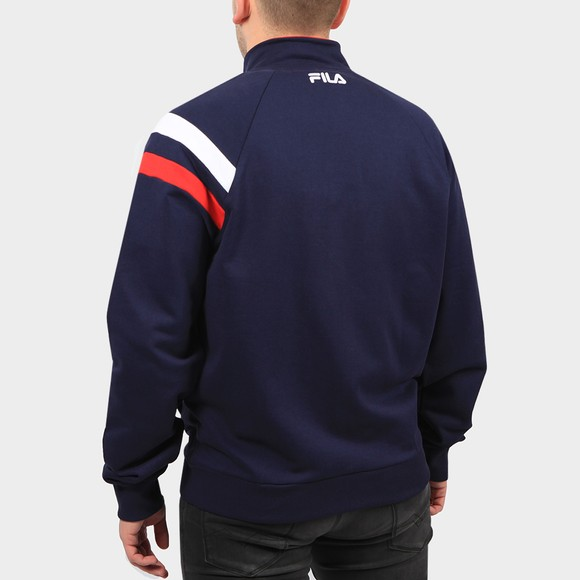 Fila Mens Blue Stance Raglan Sleeve Track Top main image