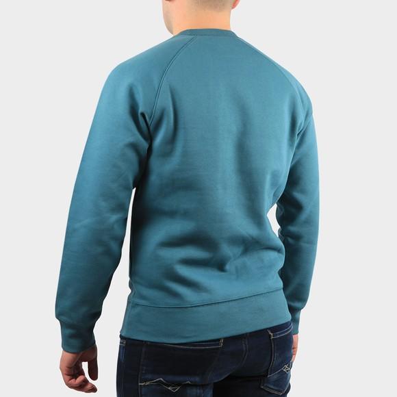 Carhartt WIP Mens Blue Chase Sweatshirt main image