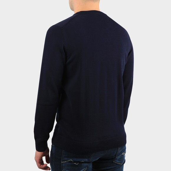 Lacoste Mens Blue AH1985 Crew Jumper main image