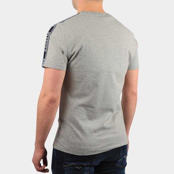 Pyrenex Mens Grey Randy Tape T Shirt main image