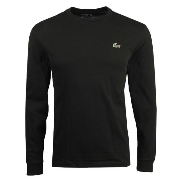Lacoste Sport Mens Black L/S T-Shirt
