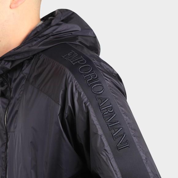 Emporio Armani Mens Blue 3K1BT5 Tape Sleeve Light Jacket main image