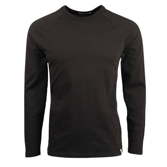 Replay Mens Black Basic Long Sleeve T Shirt