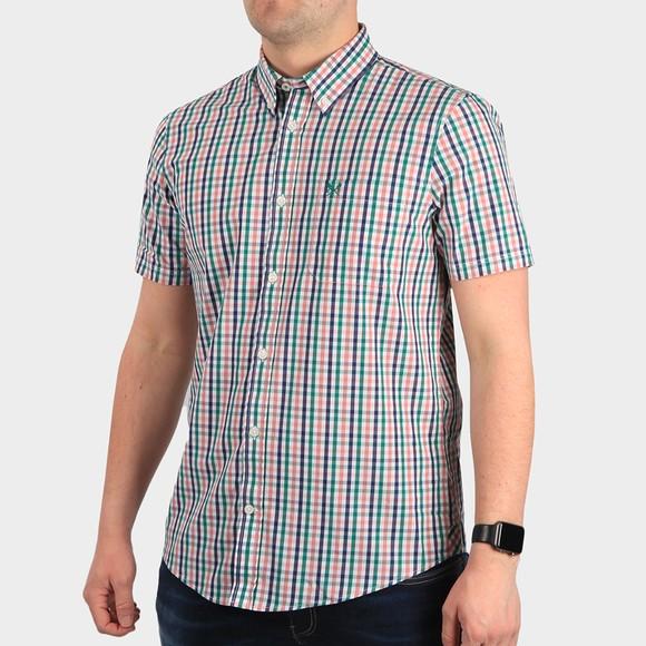 Crew Clothing Company Mens Multicoloured SS Gingham Shirt