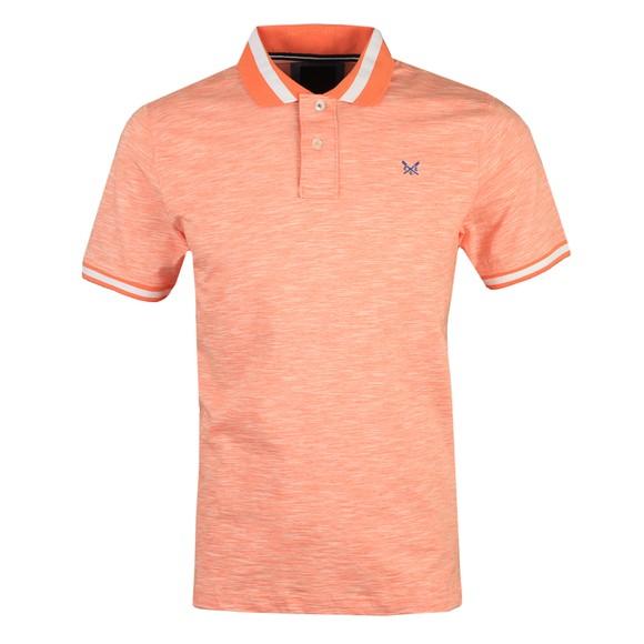 Crew Clothing Company Mens Orange Darwen Polo Shirt