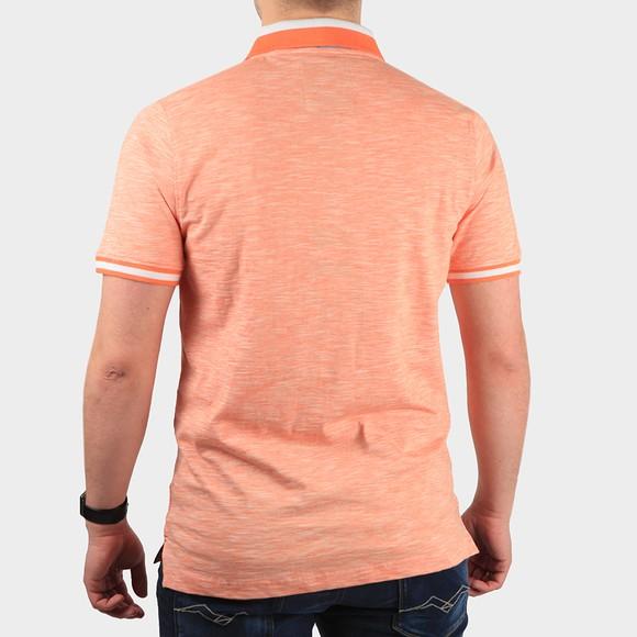 Crew Clothing Company Mens Orange Darwen Polo Shirt main image