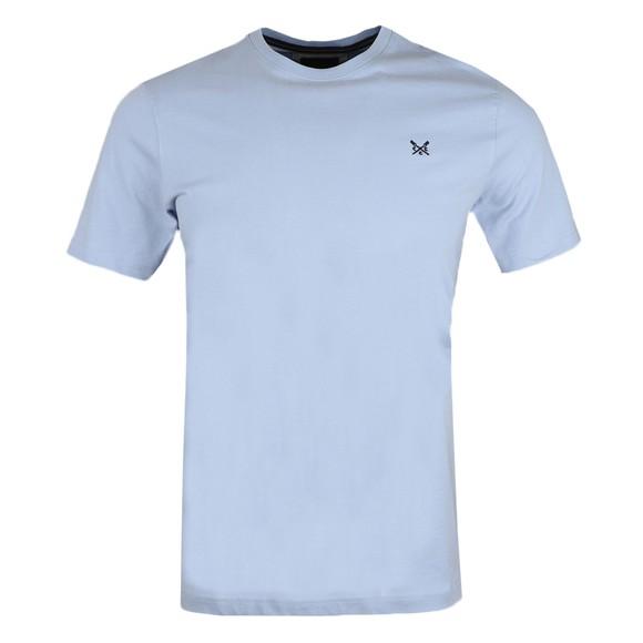 Crew Clothing Company Mens Blue Classic T-Shirt