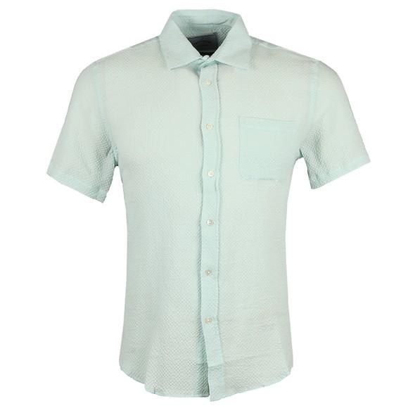 Portugese Flannel Mens Green Marisol Shirt